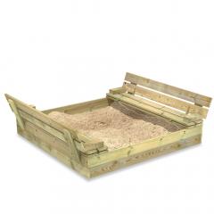 SandSeat Zandbak met klapdeksel
